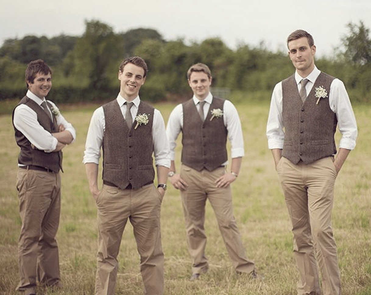 Wedding Day Ideas For Groomsmen : ... Take Two Ideas for Bridesmaid and Groomsmen Attire at a Second Wedding