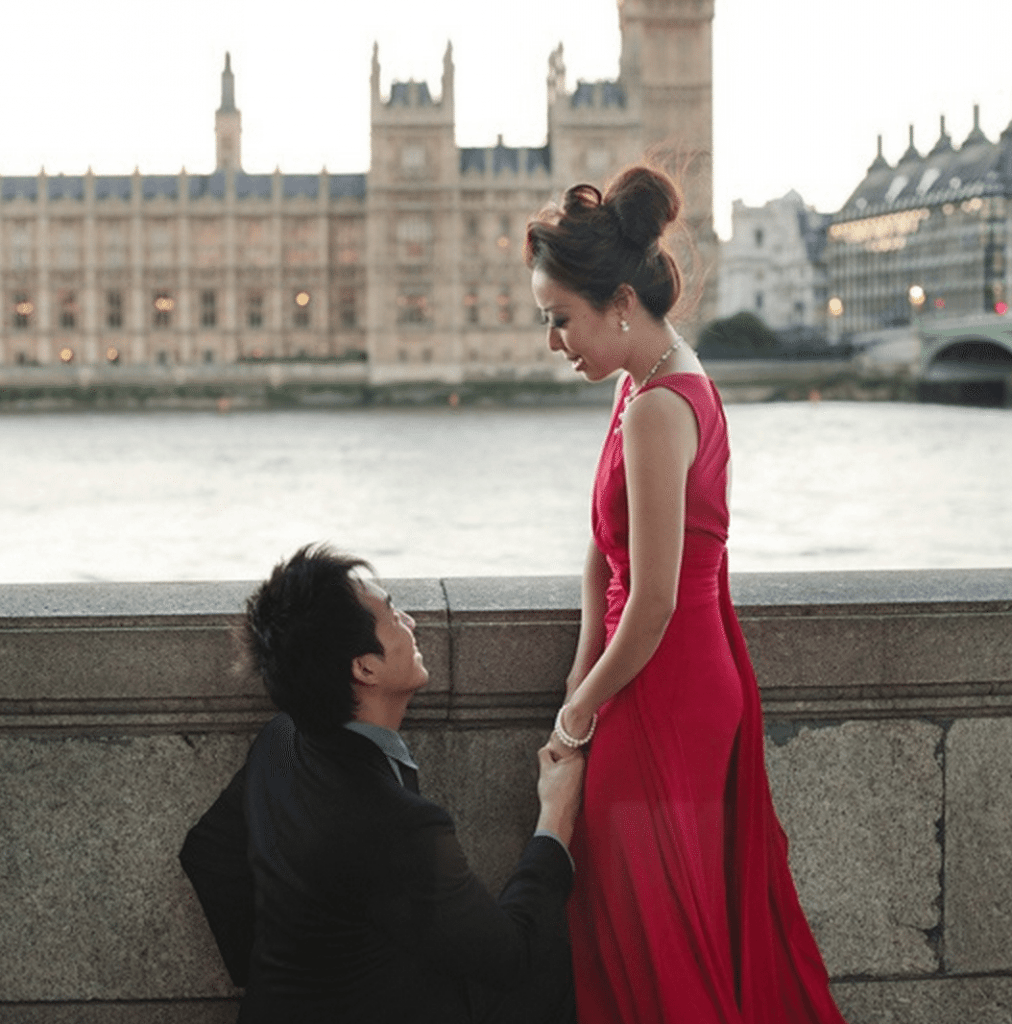wedding proposal london