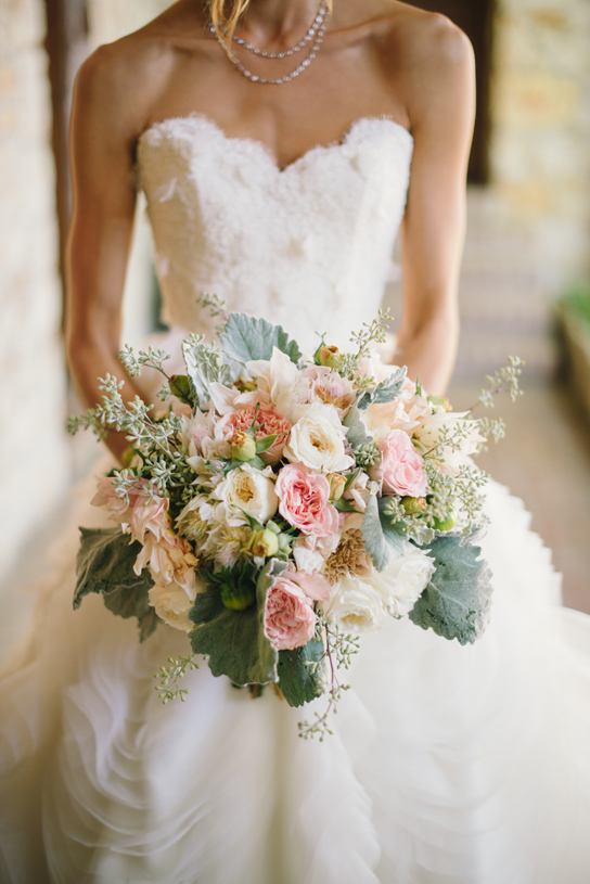 Romantic Bridal Bouquet Inspiration