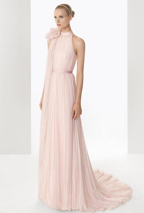 Color Wedding Dresses for Older Brides