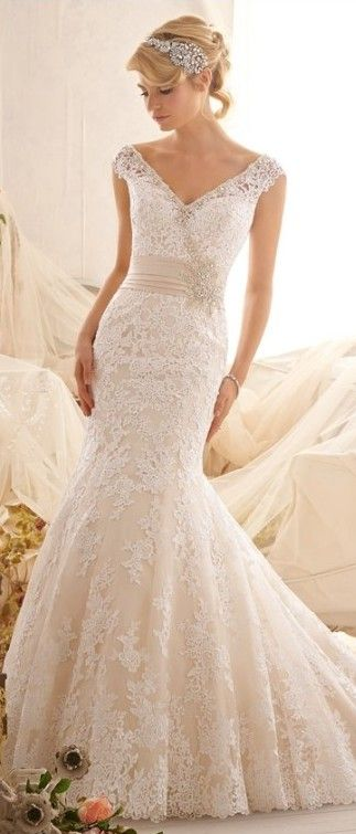ivory older bride wedding dress