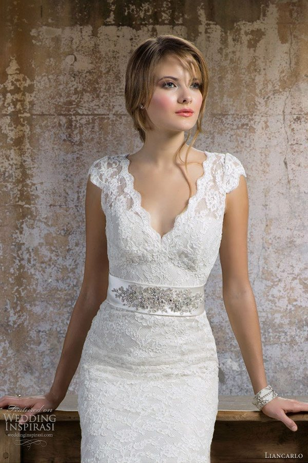 Ivory colored wedding dress for older second time bride for Second time wedding dress