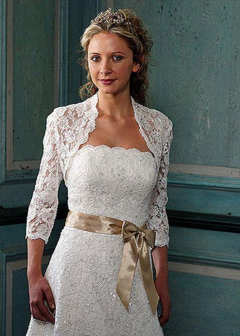 older bride dress