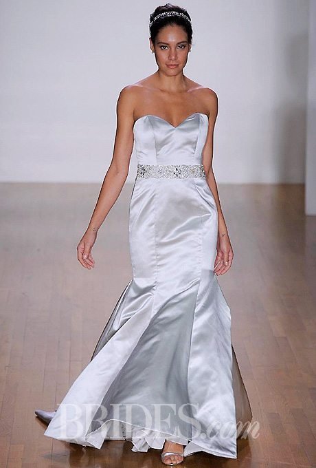 Silver Wedding Gowns