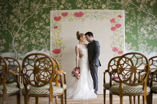 10 Unique Wedding Ceremony Backdrops | PreOwnedWeddingDresses.com