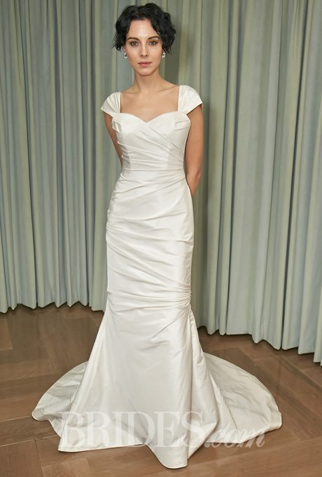 Silky bridal gowns for the second time around i do take two for Second time around wedding dresses