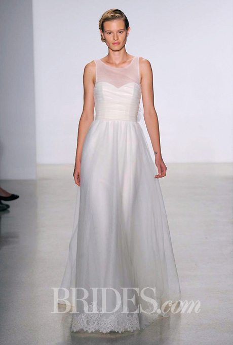 Wedding Dresses Fall 2014 For Older Brides this dress still has that