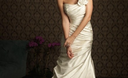 beautiful vow renewal dress