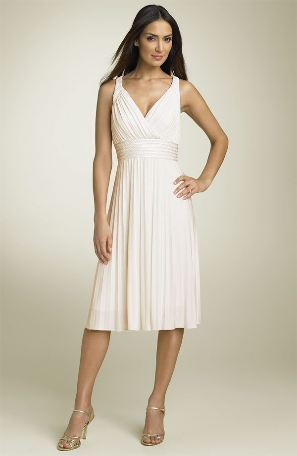 vow renewal gown
