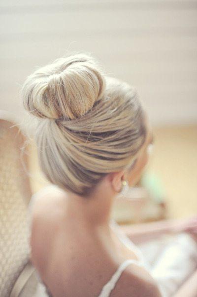 Bride Hair Bun Ideas