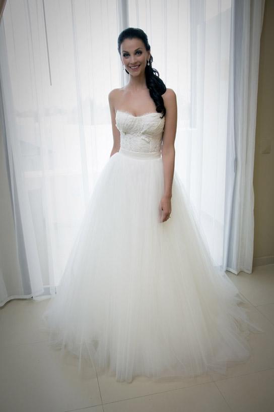 Monique Lhuillier Tulle Dress | Weddings Dresses