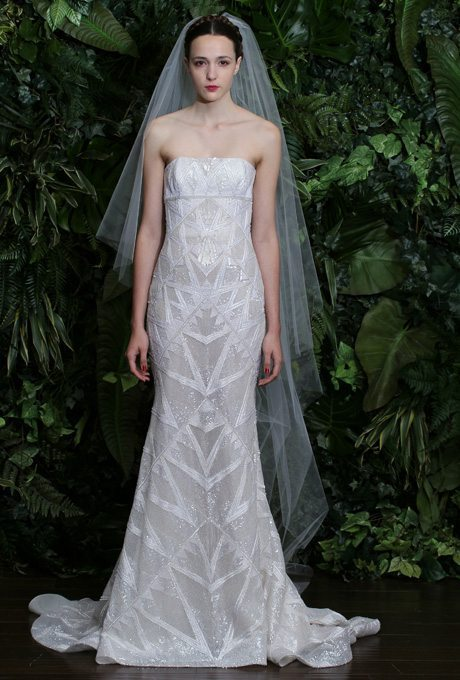 Shimmery silver gowns for the second time around i do for Wedding dresses for second time brides