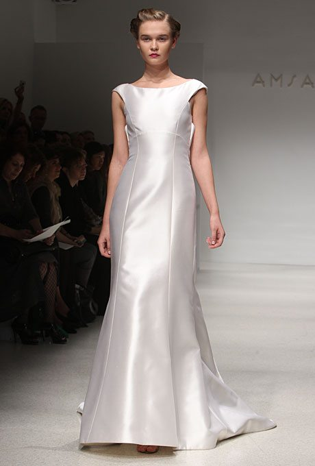 Preppy wedding gowns for the second time around for Wedding dresses second time brides