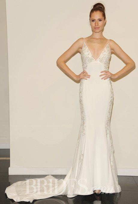 Silky Bridal Gowns For The Second Time Around