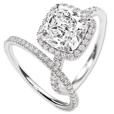 engagement ring second wedding