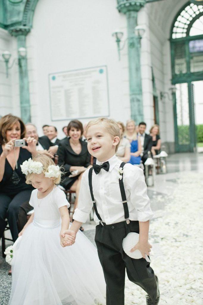 kids at weddings ideas