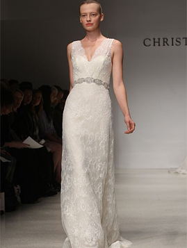 Christos Irina for sale on PreOwnedWeddingDresses.com