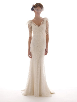 Elizabeth Fillmore Sandrine for sale on PreOwnedWeddingDresses.com
