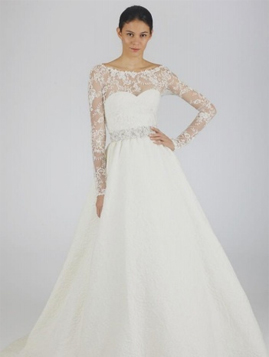 Oscar de la Renta for sale on PreOwnedWeddingDresses.com