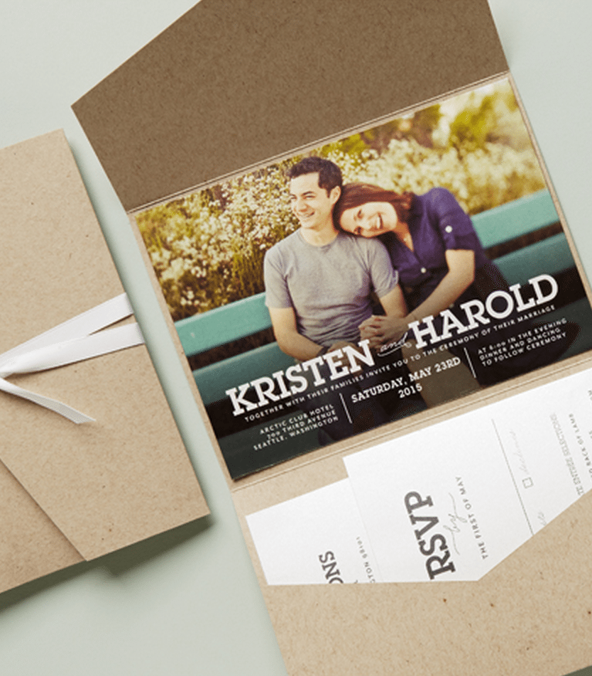second wedding invitations