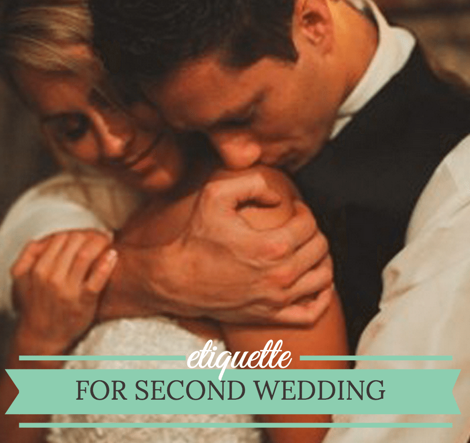 second wedding etiquette