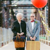 second wedding wedding party