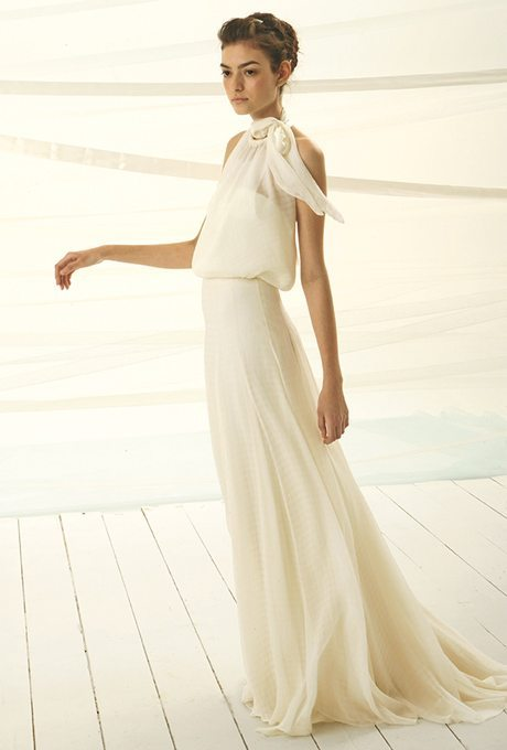 I do take two flowing chiffon gowns ready for your vow for Le spose di gio wedding dress