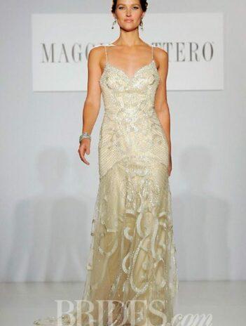Golden Wedding Gowns