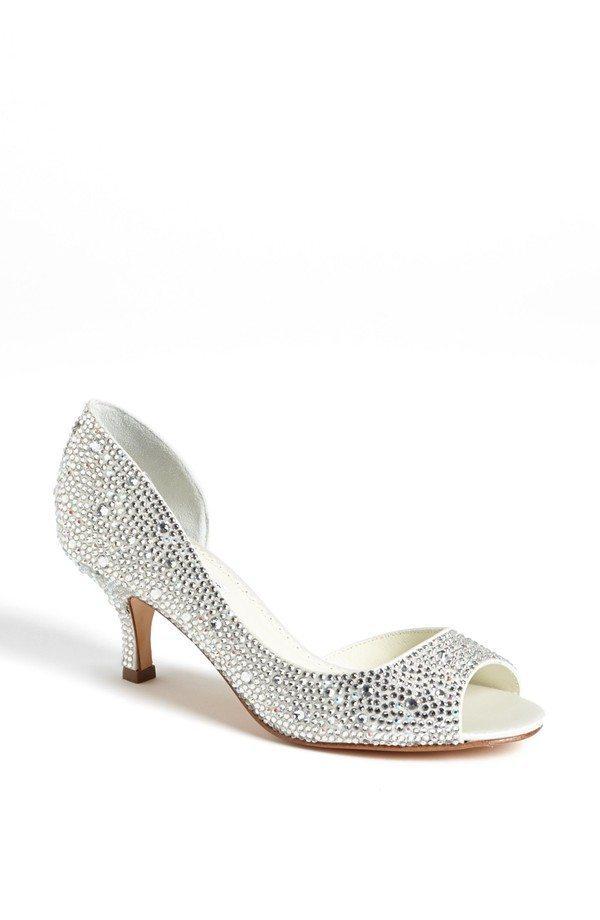 Sparkle Kitten Heel Shoes