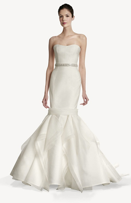 Carolina Herrera Jiselle for sale on PreOwnedWeddingDresses.com