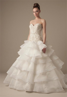 Dennis Basso wedding dresses for sale on PreOwnedWeddingDresses.com