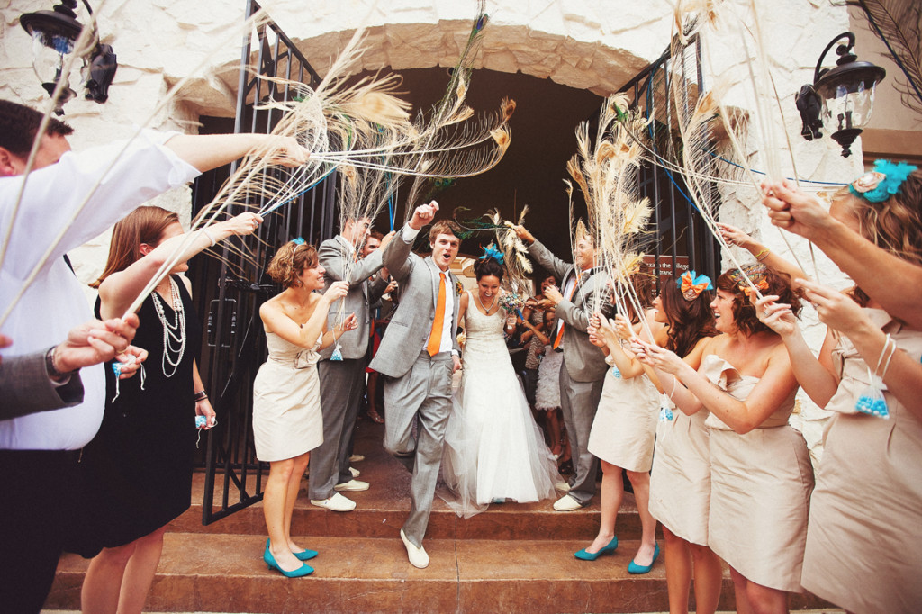 Creative Wedding Ceremony Exits | PreOwnedWeddingDresses