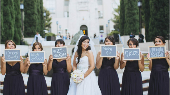 7 Fun Wedding Portrait Ideas | PreOwned Wedding Dresses