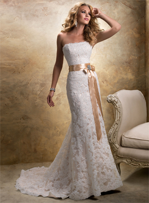 Maggie Sottero Karena Royale for sale on PreOwnedWeddingDresses.com