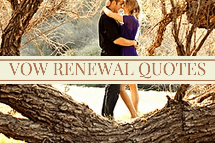 vow renewal quotes