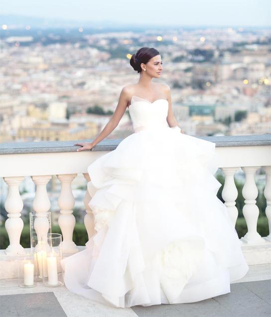 Vera Wang Katherine | Real Brides | PreOwned Wedding Dresses