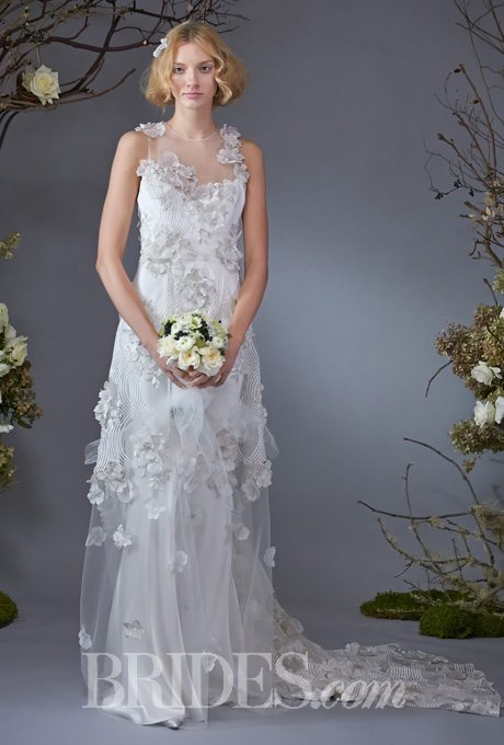 I do take two whimsical body skimming wedding gowns for Garden wedding gown designs