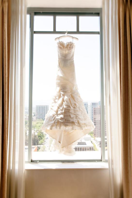 Oscar de la renta real wedding inspiration preowned for San jose wedding dresses