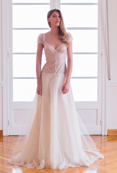 Easy Breezy Romantic Wedding Gowns For Your Vow Renewal