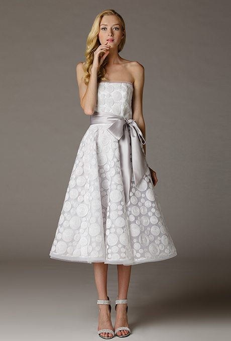 More tea length beauties for older more sophisticated for Tea length wedding dresses for older women