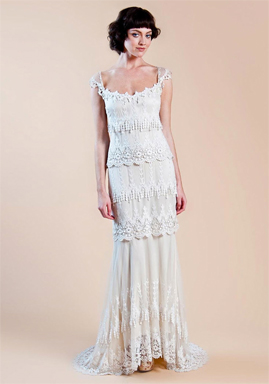 Claire Pettibone Kristene for sale on PreOwnedWeddingDresses.com