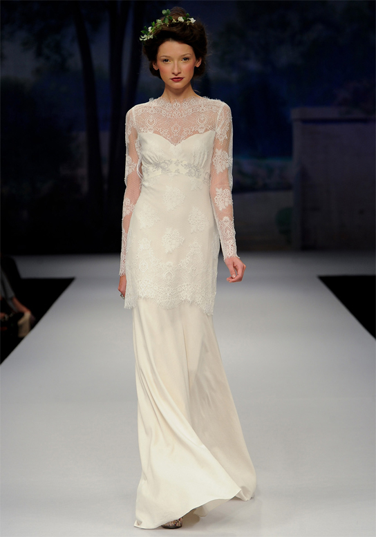 Claire pettibone designer profile preowned wedding dresses for Wedding dress claire pettibone