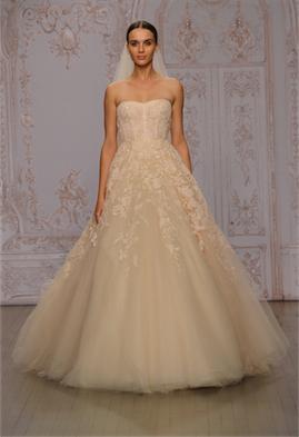 Monique Lhuillier Fall 2015 Bridal