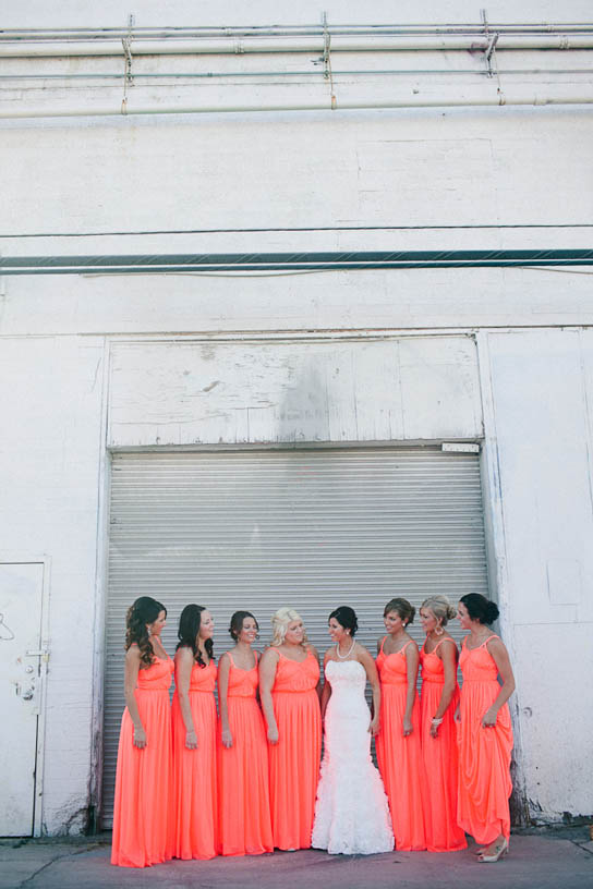 Wedding Pops of Color | PreOwnedWeddingDresses.com