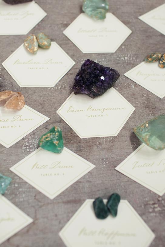 Pretty Wedding Escort Cards | PreOwnedWeddingDresses
