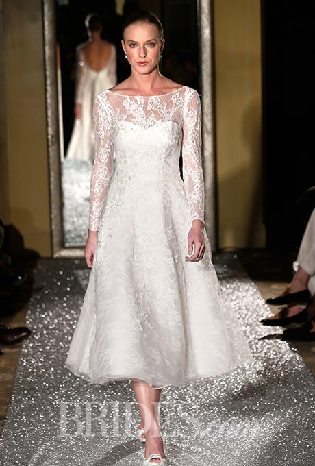 More Tea-Length Beauties for Older, More Sophisticated Brides