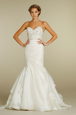 Jim Hjelm 8200 wedding dress