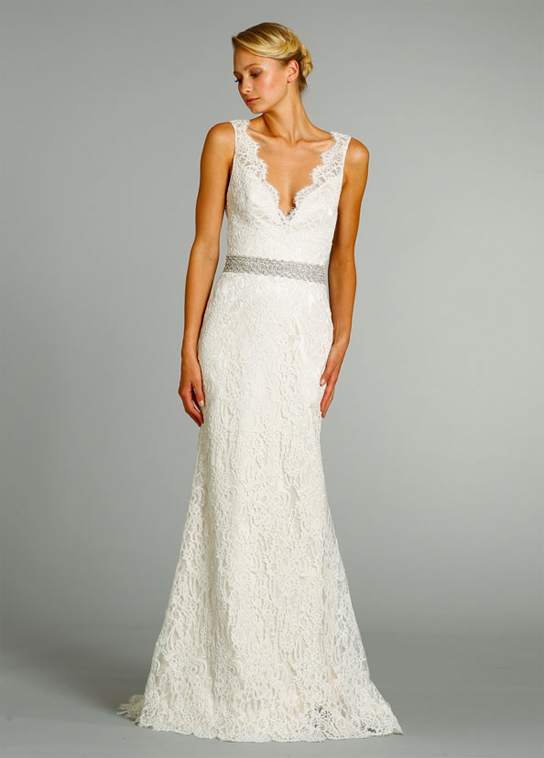 Jim Hjelm 8254 wedding dress