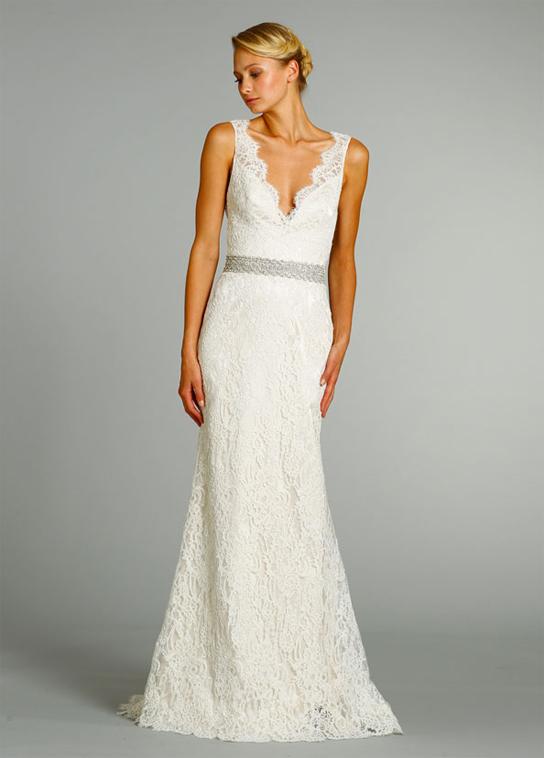 Jim Hjelm 8254 wedding dress
