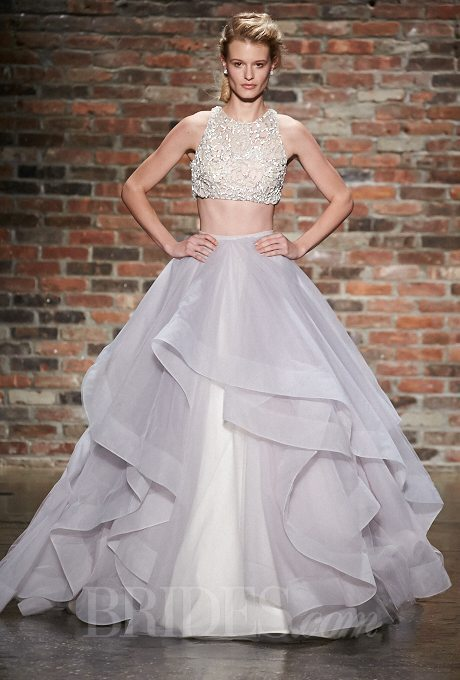 I do take two alternative whimsical two piece wedding gowns for Wedding two piece dress